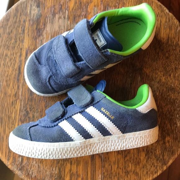 0b22fc5e7028 adidas Other - Adidas Gazelle Velcro 9 toddler boys sneakers navy